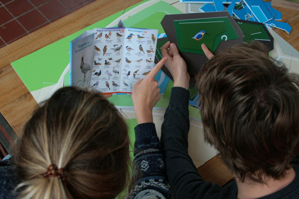 Buurtparticipatie - Experience based learning - Vogels spotten