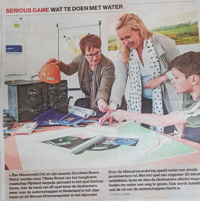 serious game participatie | in de krant