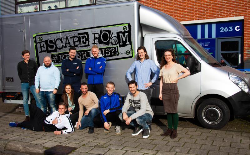 Sport Heroes | Escape room in een bus over alcohol gebruik bij jongeren