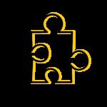 Icons Hoofdbestand Dubbele Lijn Icon Puzzel