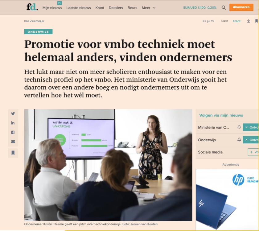 2019 Bte Financieeldagblad